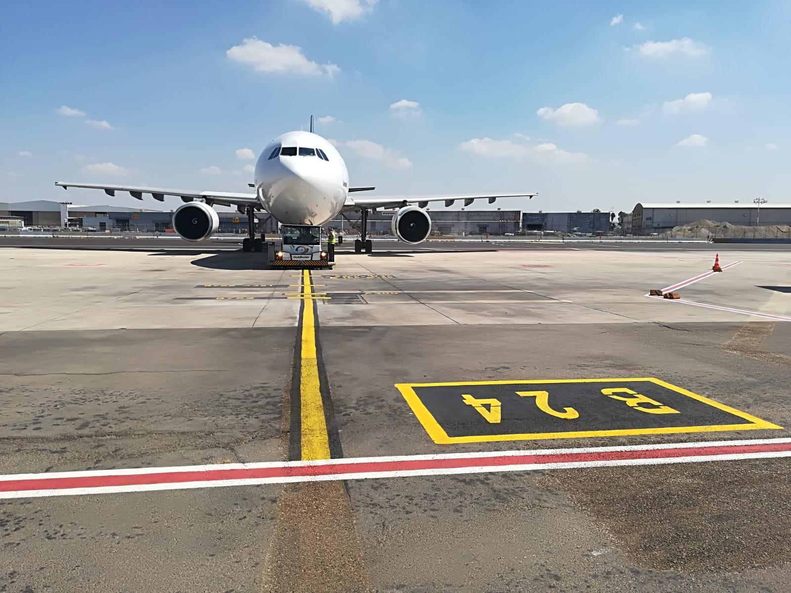 """רחבות מטוסים BRAVO  בנתב""""ג"""